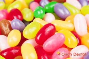 Orion Dental - seven food ingredients that might make you think twice about eating candy