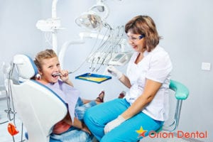 Orion Dental - when should you first take your child to the dentist?
