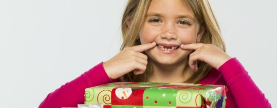 Dental themed Christmas presents
