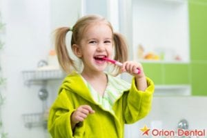A Holiday from School Does Not Mean a Holiday From Brushing!