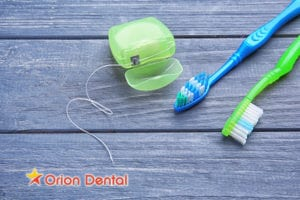Orion Dental :: Should I Brush or Floss First?
