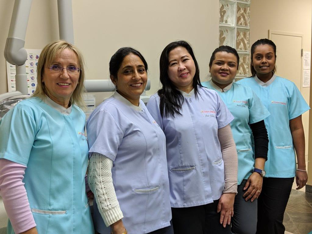 The Team at Orion Dental Milton