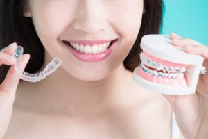 Orion Dental orthodontic solutions with braces and invisalign